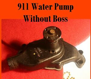 Corvette-1955-Water-Pump-Correct-for-NCRS-911-without-Boss-Rebuilt-Correct-screw