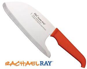 RACHAEL-RAY-8-034-COOKS-ROCKER-KNIFE-ORANGE-HANDLE-FUR840