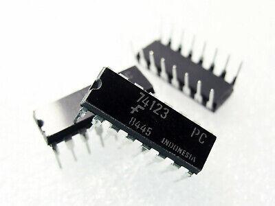 DIP-16 Fairchild 74123 IC Dual monostable Multivibrateur 5x 74123PC