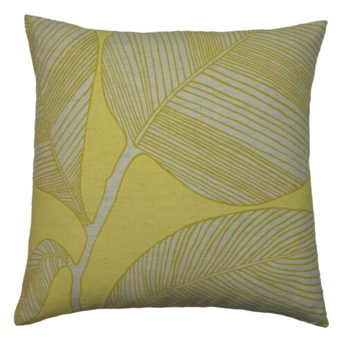 House Additions Poplar Scatter Filled Cushion in Yellow 43cm