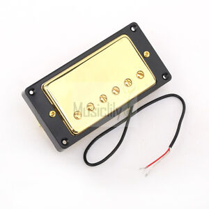 Details about Musiclily Black Ring Bridge & Neck Humbucker Pickup For  Gibson Les Paul Guitar