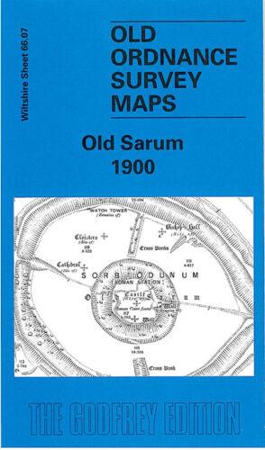 GODFREY EDITION OLD ORDNANCE SURVEY MAPS WILTSHIRE