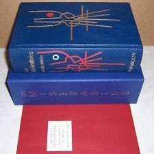 folio society Limited Edition Les Misérables by Victor Hugo