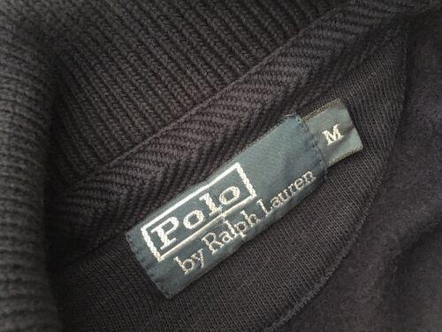 Felpa Ralph M collo Polo Taglia Medium con sciallato Navy Lauren 7T7Z6Hx