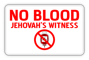 No-Blood-Jehovah-Witness-Metal-Medical-Card-For-Wallet-Purse-Insert-Gift-Card