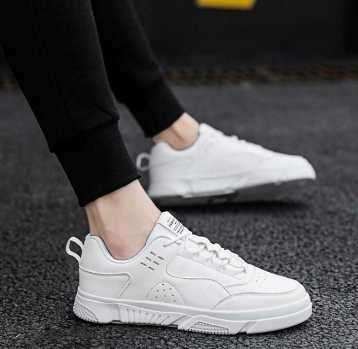 Fashion Mens Sneaker shoes Lace Up Slip On Outdoors Breathable Board shoes Szie
