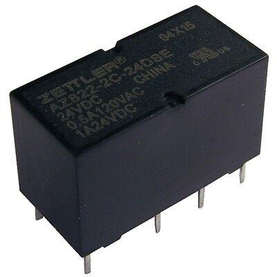 ZETTLER AZ822-2C-24DSE Relais 24V DC 2xEIN 2A 2880R DIP Relay Sensitive 855057