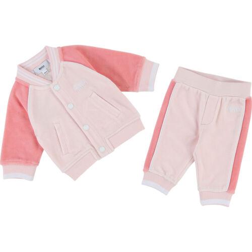 HUGO BOSS Baby Kombination 2 tlg Set Jogginganzug Jacke und Hose 6M 9M 12M 18M