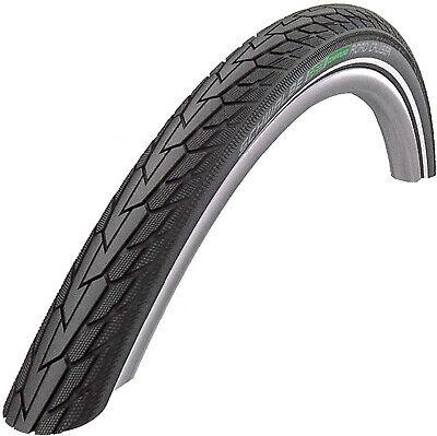 """26/"""" Bike Tyre Clincher Schwalbe Road Cruiser Wire 26X1.75/"""" Black//Reflex"""