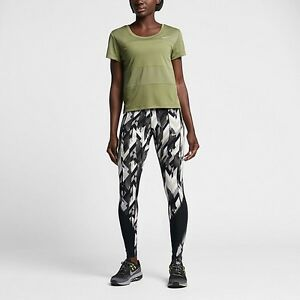 Image is loading NIKE-POWER-EPIC-LUX-PRINTED-RUNNING-TIGHTS-831617-