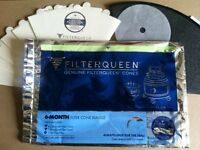 Filter Queen 6-month Filter Cone Pack With Medipure Cone - Genuine Majestic,
