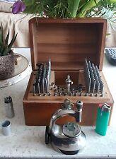 Conjunto de demarcación de boley joyeros relojeros herramientas Boley & Leinen