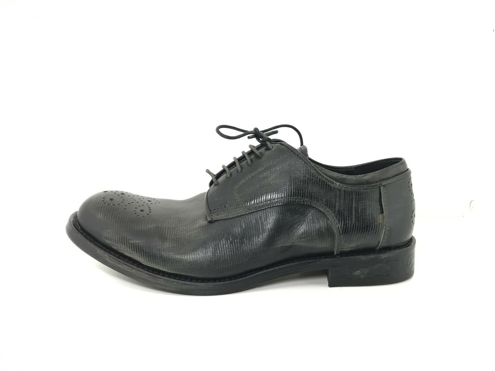 Prem1um scarpe made in leather italy uomo man pelle leather in 100% derby casual classic 584de7