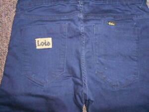 LOIS-MEN-039-S-MARVIN-SKINNY-CIGARETTE-IRIS-DARK-JEANS-31-waist-33-leg-CASUALS-80s