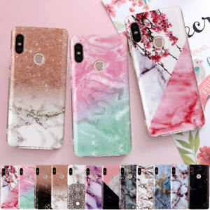 san francisco 9a958 e1611 Details about For Xiaomi Redmi Note 5 6 Pro S2 5A Mi A2 Marble Pattern Soft  Rubber Case Cover