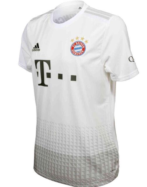 adidas FC Bayern Munich 2019-2020 Away Soccer Jersey DW7406 Size ...