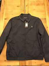 Polo Ralph Lauren Jacket Windbreaker S Mens Nwt Black L Xl M Zip Coat Blue Navy