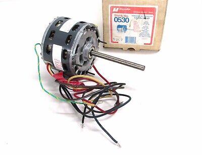 *NEW* MAGNETEK 0530 UNIVERSAL ELECTRIC MOTOR 1075 RPM 208V-230V 1//16-1//8-1//4 HP