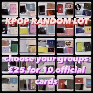 Personalised-Kpop-Random-LOT-10-Official-Photocards-Choose-The-Boyz-Mamamoo-Got7