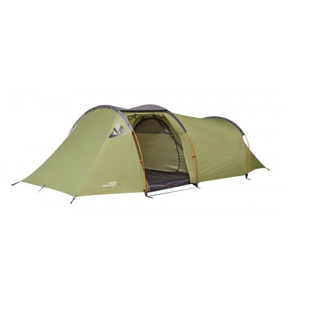 Vango Knoydart 300 Tent - 3 Person Tent 2019 (Dark Moss)