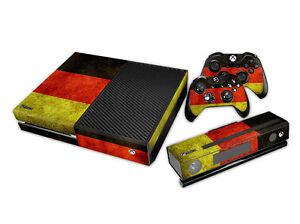 XBOX-une-habille-Design-Foils-Autocollant-Film-de-protection-ensemble-Germany