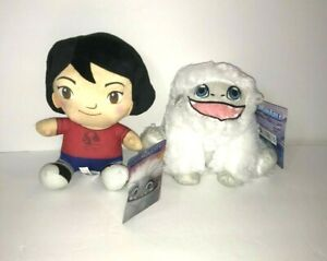 New Abominable Monster White Snowman with Pink Mouth Yi Girl Licensed Plush