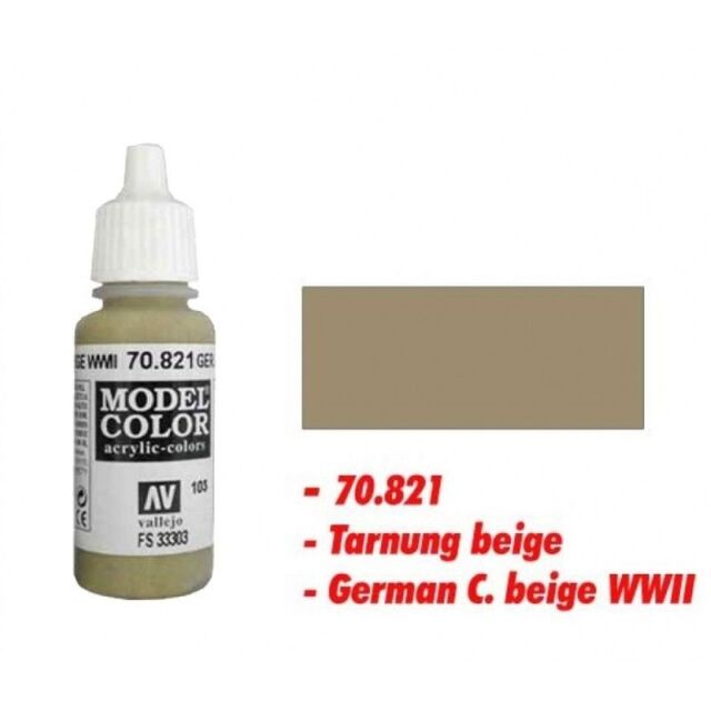 Vallejo Color - German camo beige 103