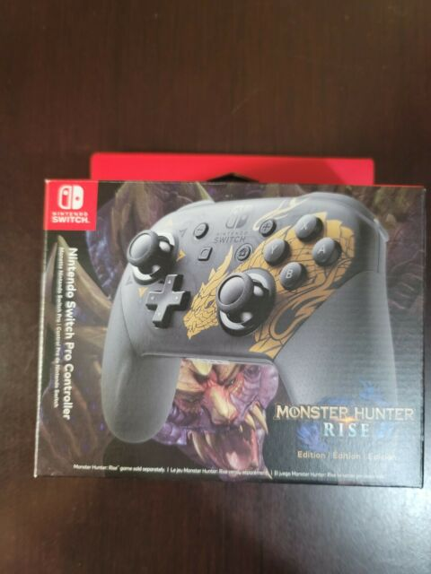 Nintendo Switch Pro Controller - Monster Hunter Rise Edition