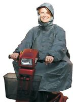 Waterproof Mobility Scooter Poncho Rain Cover With Hood From Bayliss Mobility