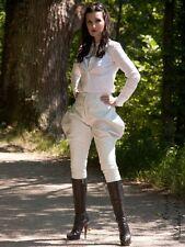 Lederhose Leder Hose Breeches Weiß Maßanfertigung