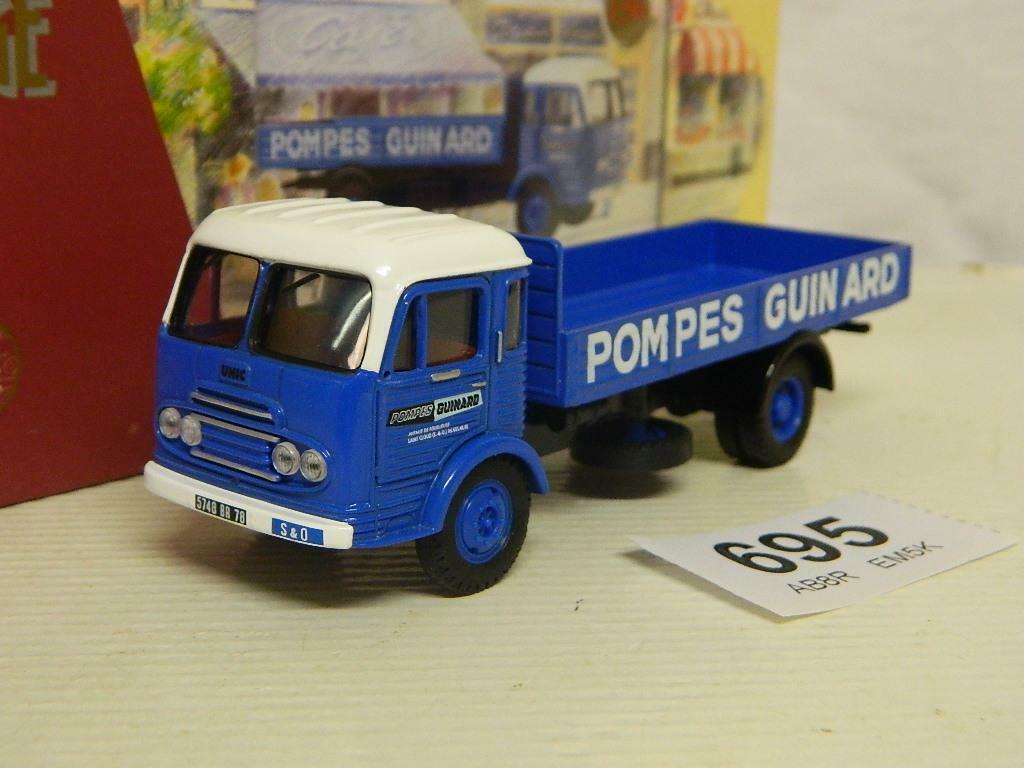 Corgi 1 50 Unic Saverne Vehicule De Service Pompes Guinard Box EX72916