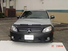 Colgan Front End Mask Bra 2pc. Fits Mercedes C300 Sport Sedan 2008-11 W/O Licen.