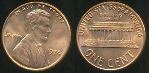 United-States-1974-One-Cent-Lincoln-Memorial-Uncirculated