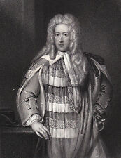 1835 Three Portrait Engravings - Henry St. John Lord Bolingbroke - English Tory