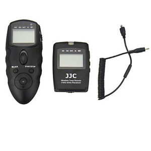 WT-868 C Wireless Timer Remote F Canon 7D 50D 5D 5DIII 5DII 6D 1DX 5DS 5DSR 6DII