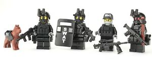 SWAT-Team-Police-Officer-Tactical-Unit-SKU53-made-with-real-LEGO-Minifigure