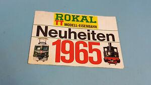 Rokal TT Neuheitenblatt 1965