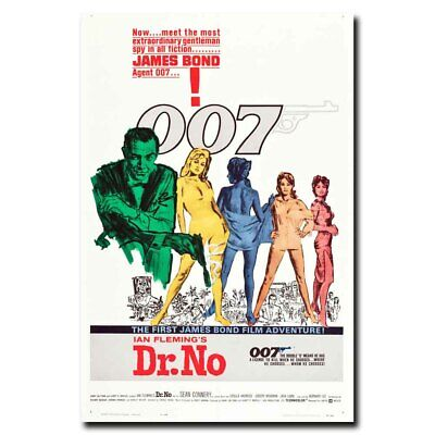 JAMES BOND 007 Hot Movie Art Canvas Poster 12x18 24x36 inches