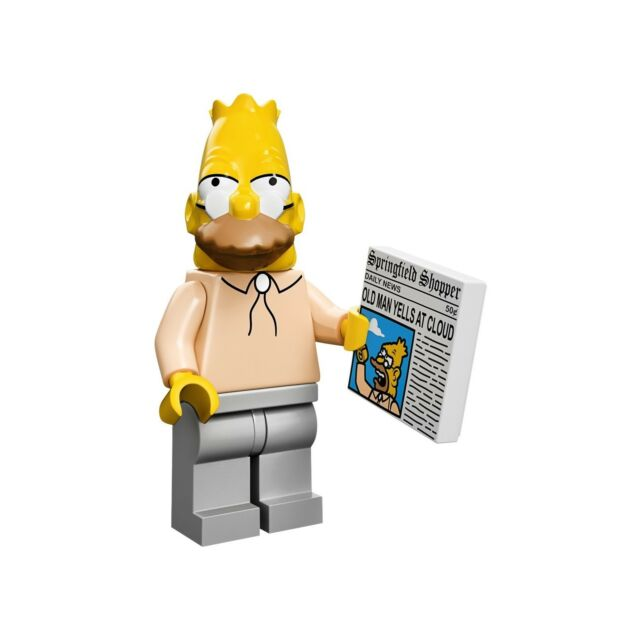 LEGO Minifigure Grampa Simpson - Simpsons Series 1 Sealed Polybag |Genuine 71005