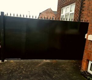 Details about Double sheeted Gate, Metal Iron Gate, Security Gate, Side  Gate, Drive Gate, Gate