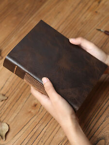 Handmade-Gift-Leather-Cover-Vintage-Sketch-Book-Notebook-Travel-Journal-Diary