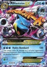 M Blastoise EX / M Turtok EX - 30/146 XY - EX Karte Englisch Pokemon NM