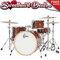 Gretsch Catalina Maple 4-piece Shell Pack Drum Kit Walnut Glaze 22