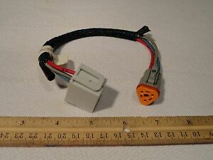 kauffman engineering 2804898 forklift wiring harness electrical image is loading kauffman engineering 2804898 forklift wiring harness electrical plug