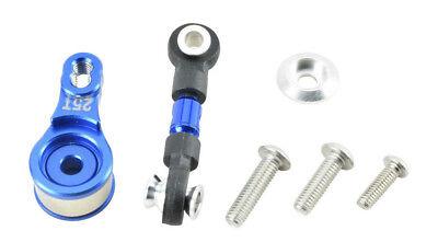GPM Racing Traxxas 4-Tec 2.0 Blue Aluminum Rear Tie Rods W// Stabilizer GT049R-B