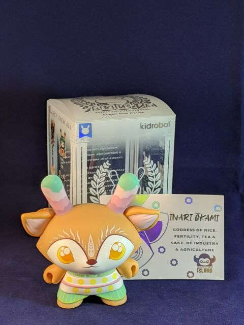 "Kidrobot SPIRITUS DEA Dunny Series INARI OKAMI 3/"" Vinyl Figure Tomodachi Island"
