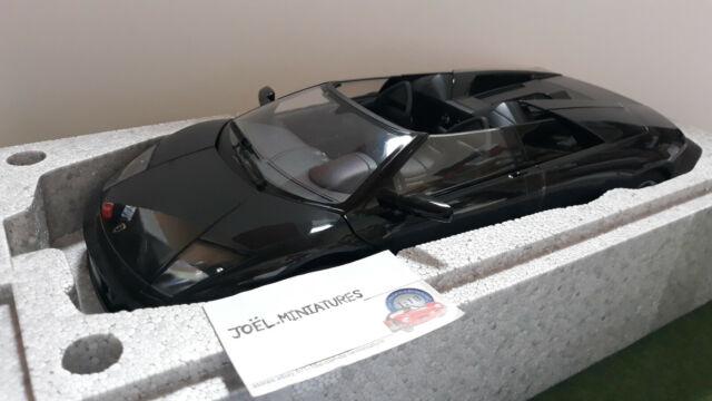 LAMBORGHINI  MURCIELAGO ROADSTER noir métal 1/12 AUTOart 12083 voiture miniature