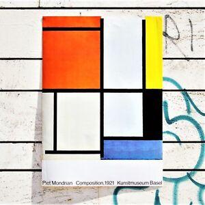 Piet-Mondrian-Composition-1921-Poster-Stampa-D-Arte