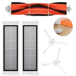 Fuer-XIAOMI-Mi-Robot-Vacuum-Filter-Seitenbuersten-Zubehoer-Sieb-Cleaner-Hauptbuerste