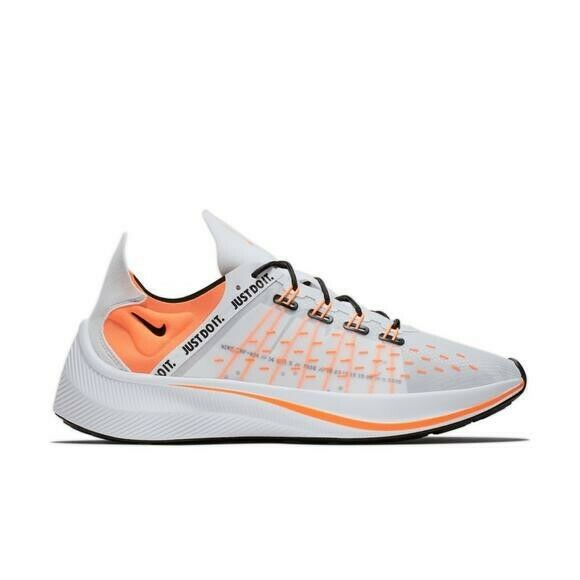 New NIKE EXP X-14 'Just Do It' Pack WHITE TOTAL orange-BLACK-WOLF GREY AO3095-10